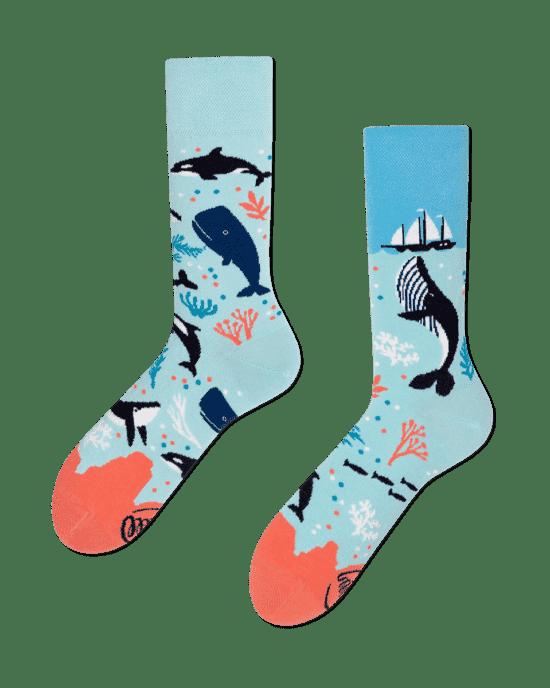 Najnowsza wspaniały wygląd oficjalny sklep ManyMornings - Mismatched colorful socks