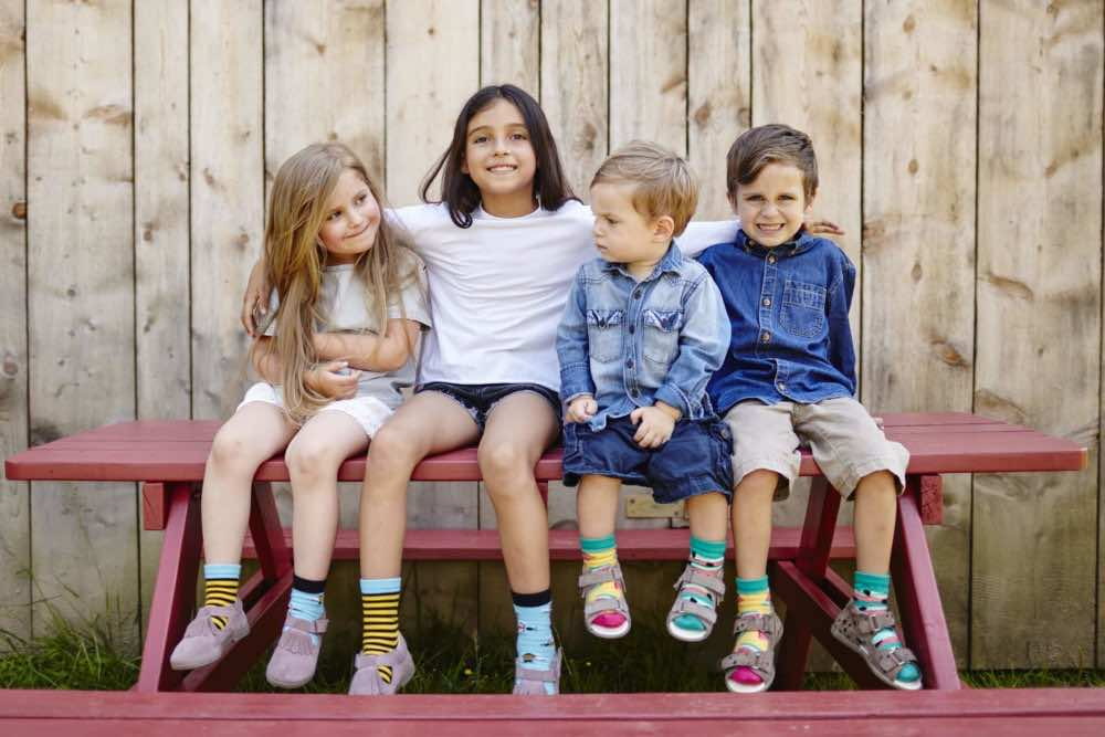 kids models socks