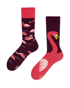PINK FLAMINGO - Skarpetki we flamingi