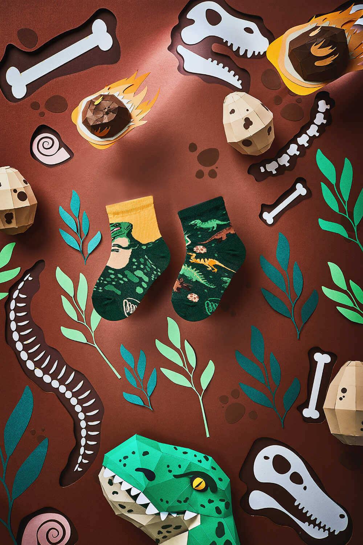 THE DINOSAURS KIDS - Dinosaur kids socks