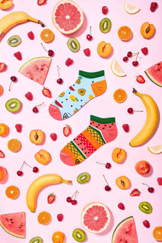 owocowe skarpetki tutti frutti