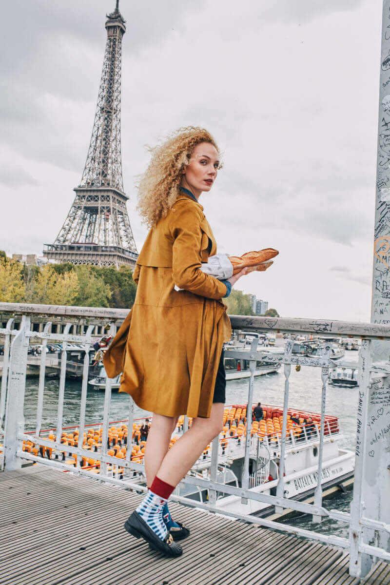 BONJOUR FRANCE - Skarpetki francuskie