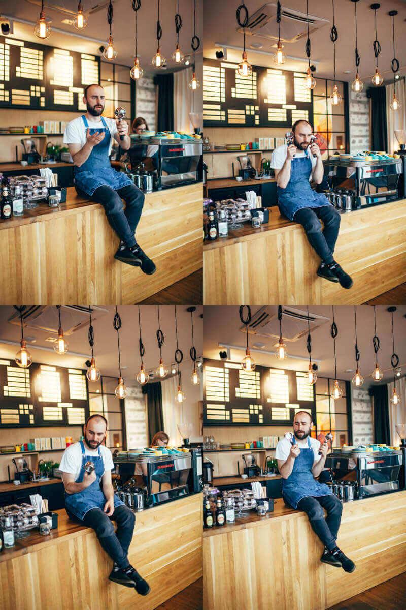 DARK ESPRESSO - Skarpetki z kawą