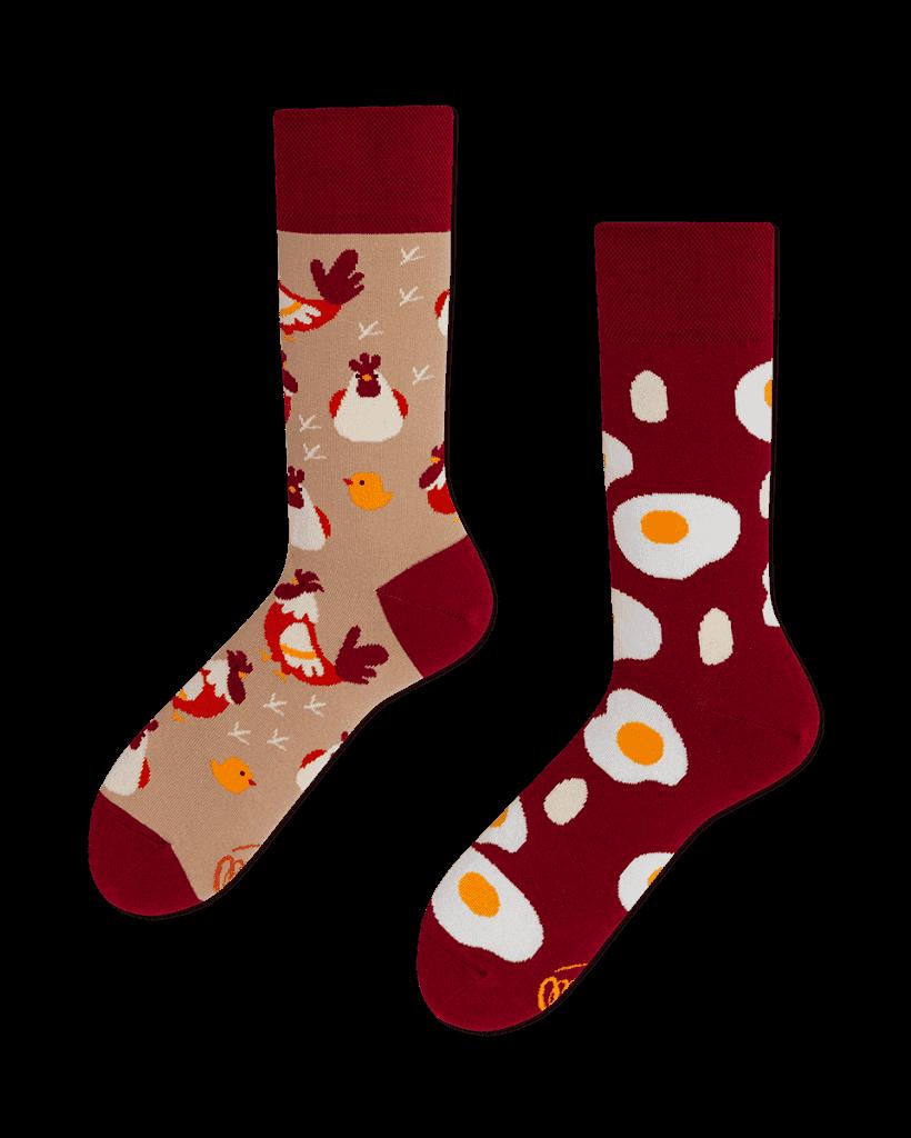 EGG AND CHICKEN - Skarpetki w jajka i kury