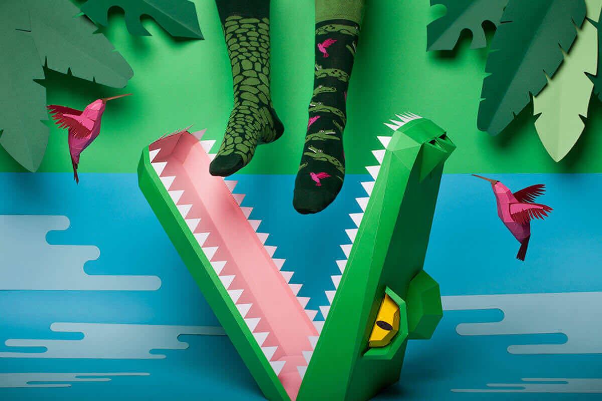 FORFITER - Skarpetki z krokodylem