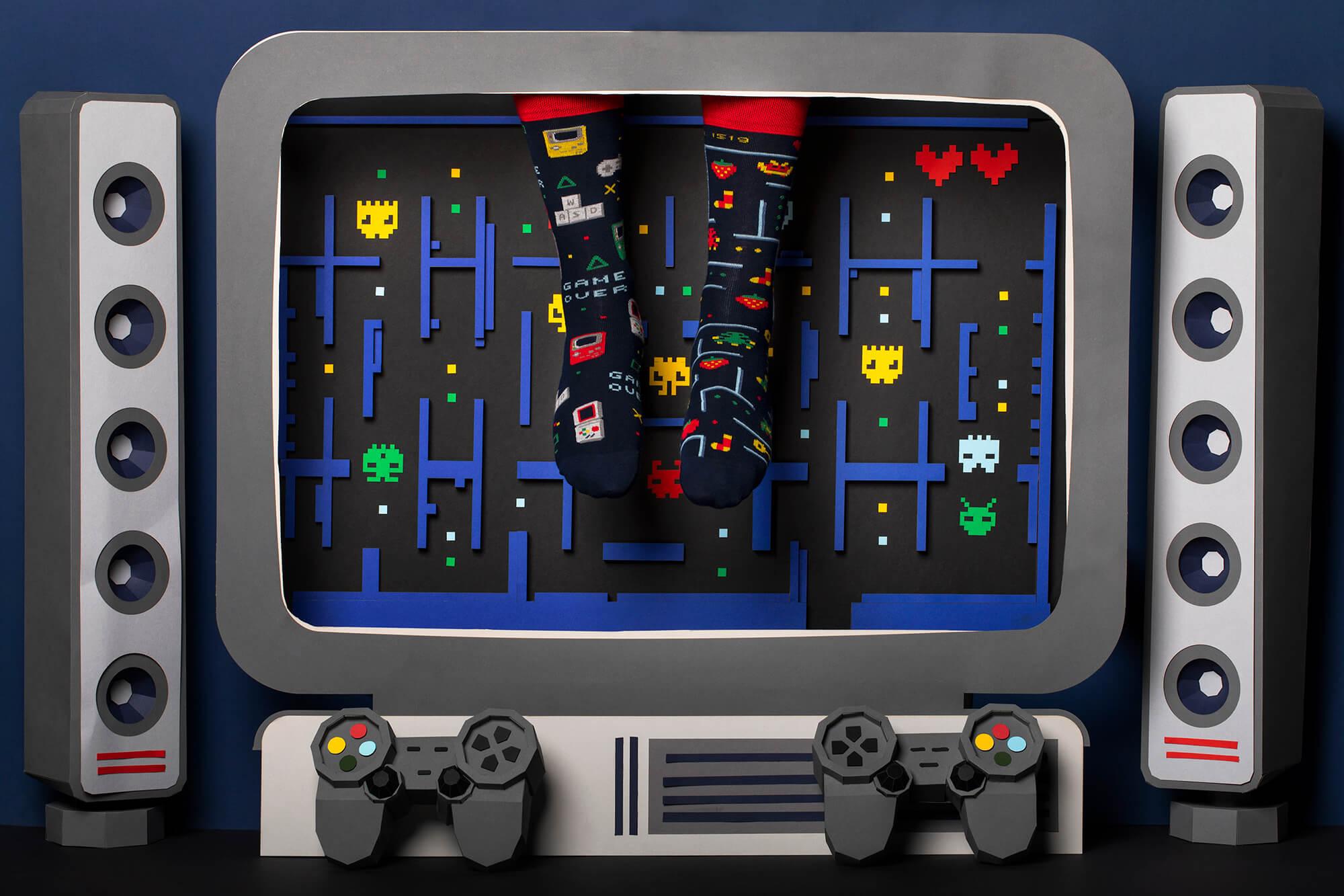 GAME OVER - Skarpetki dla graczy