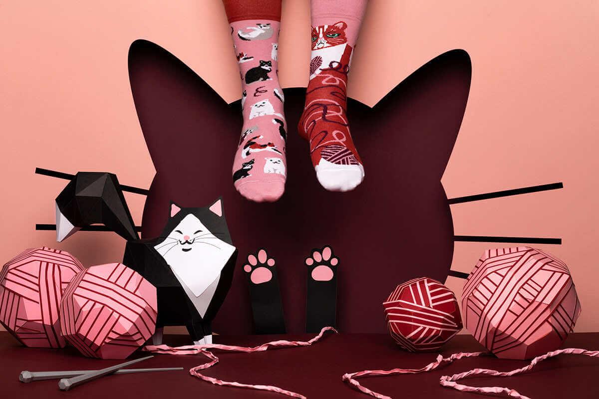 PLAYFUL CAT - Skarpetki z kotem