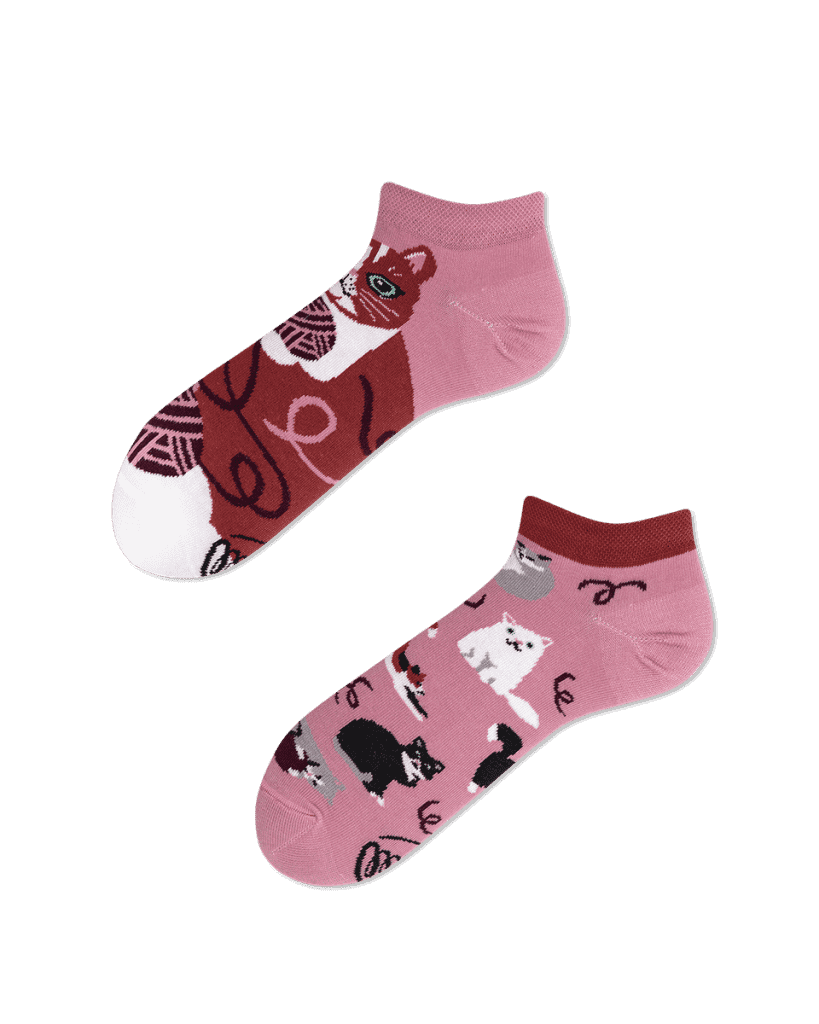 PLAYFUL CAT LOW - Cat low socks
