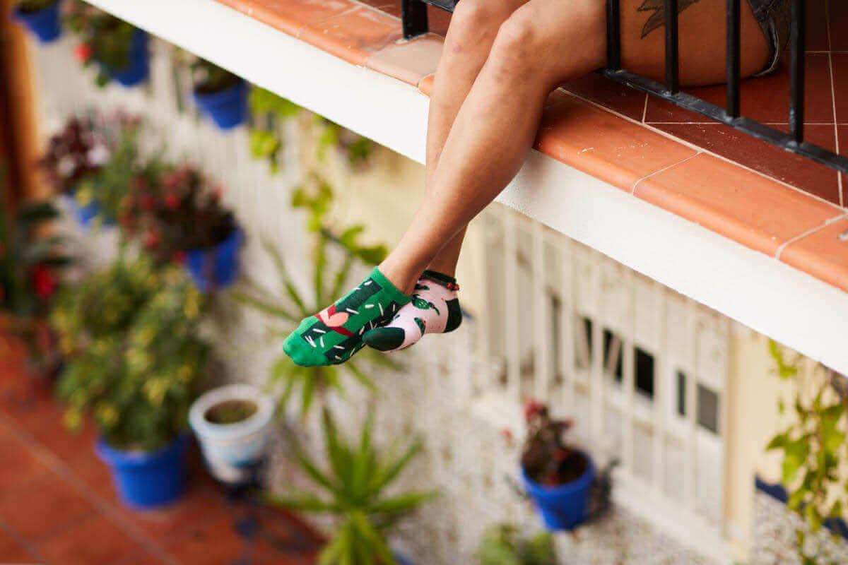 SUMMER CACTUS LOW - Cactus low socks