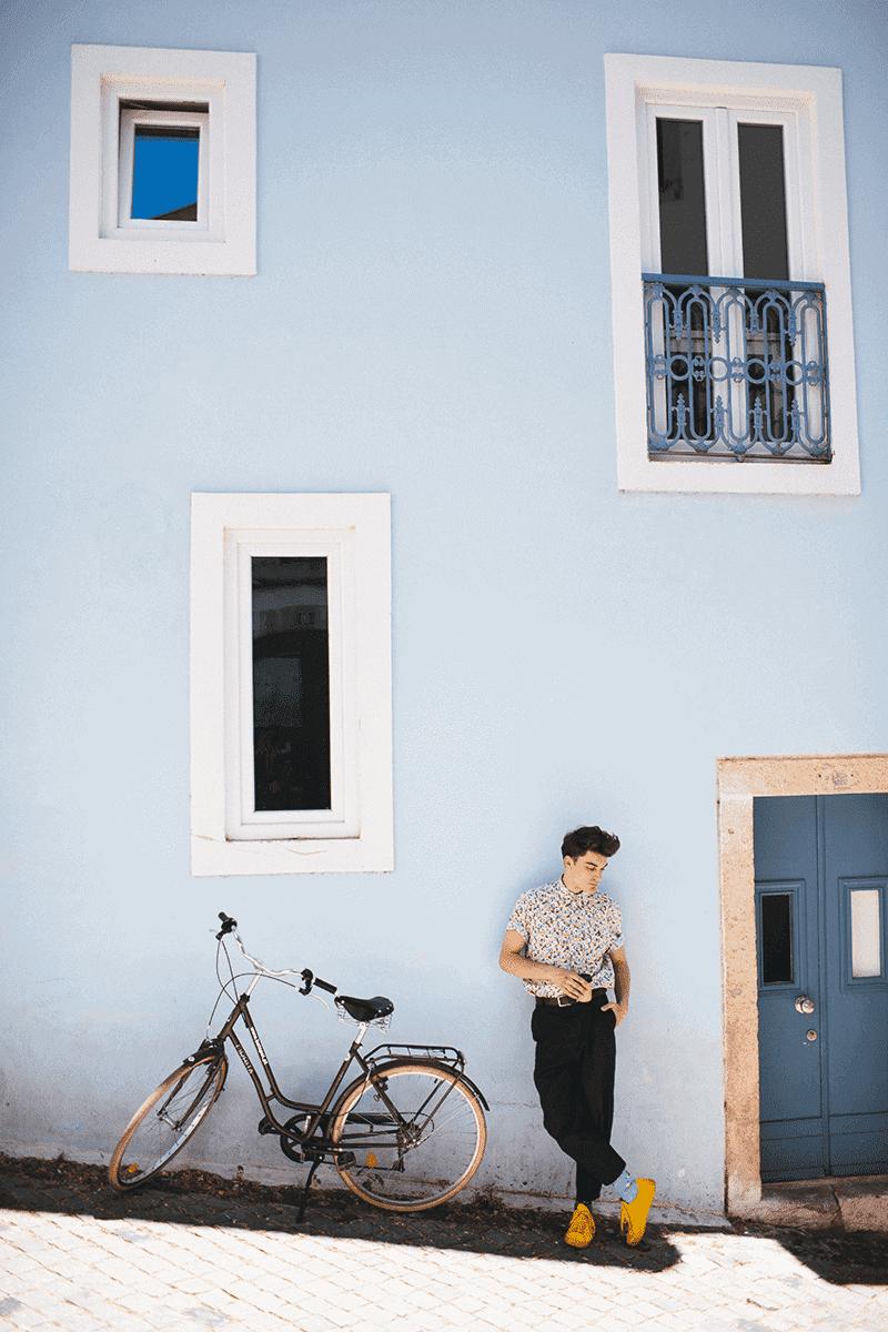 THE BICYCLES LOW - Fahrrad Sneakersocken