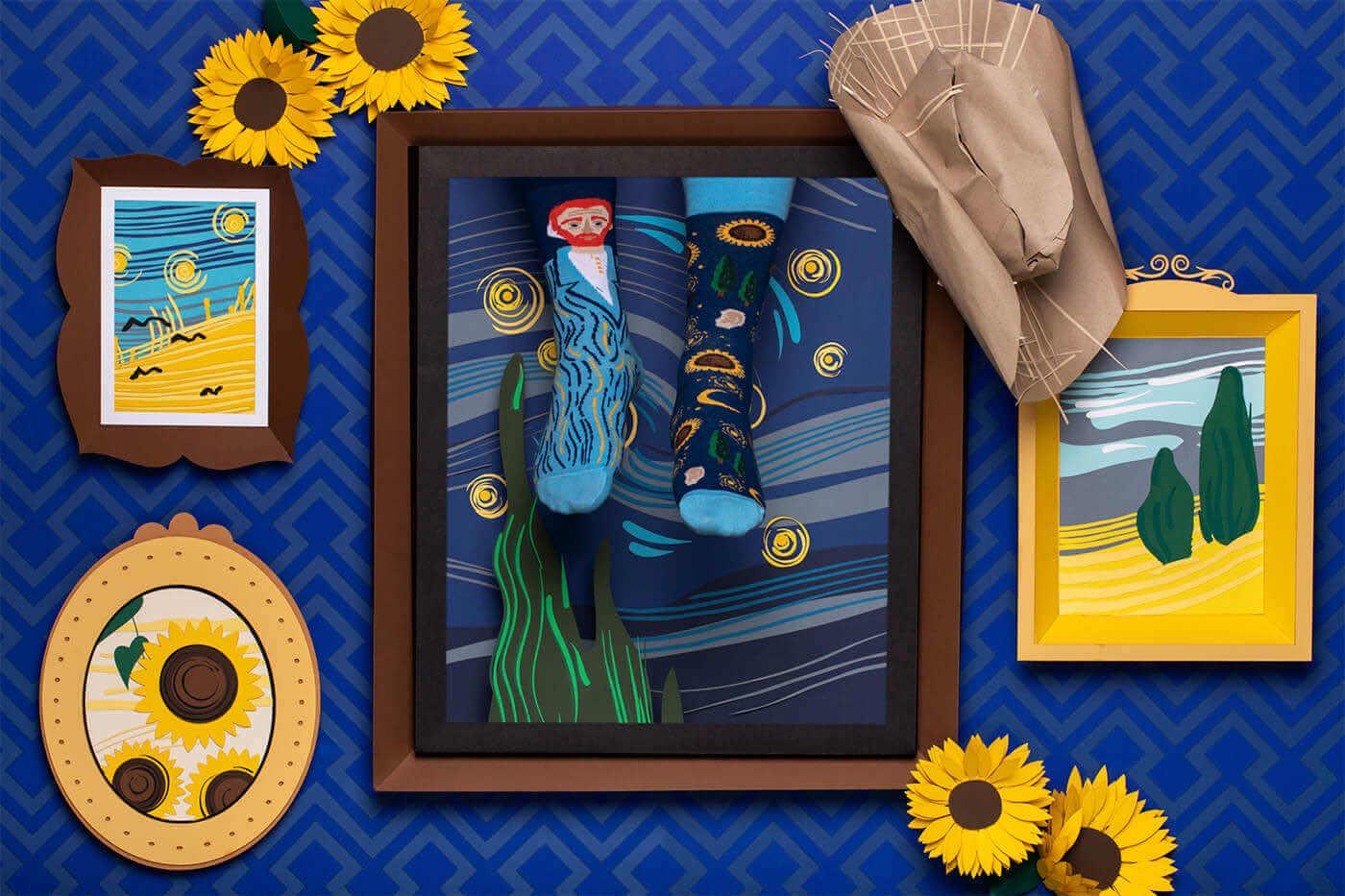 TRUE VINCENT - Chaussettes motif Vincent