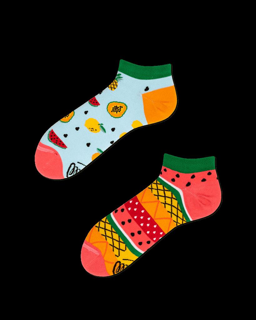 TUTTI FRUTTI LOW - Skarpetki stopki w owoce