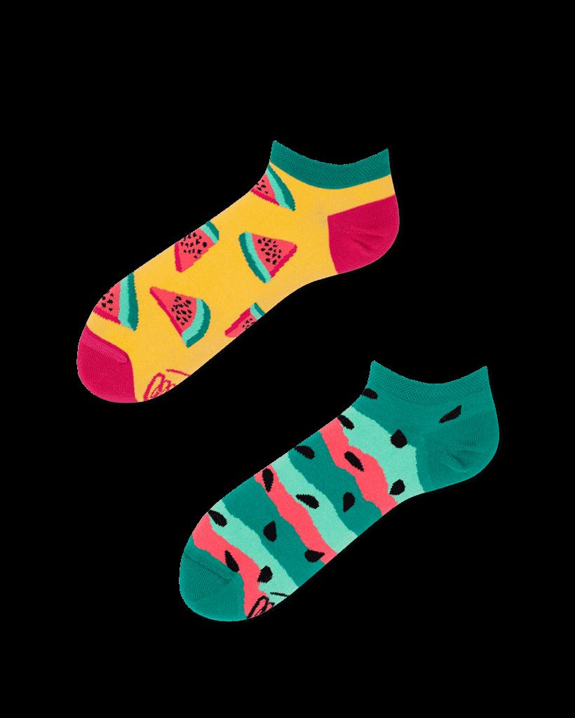 arbuzowe skarpetki stopki