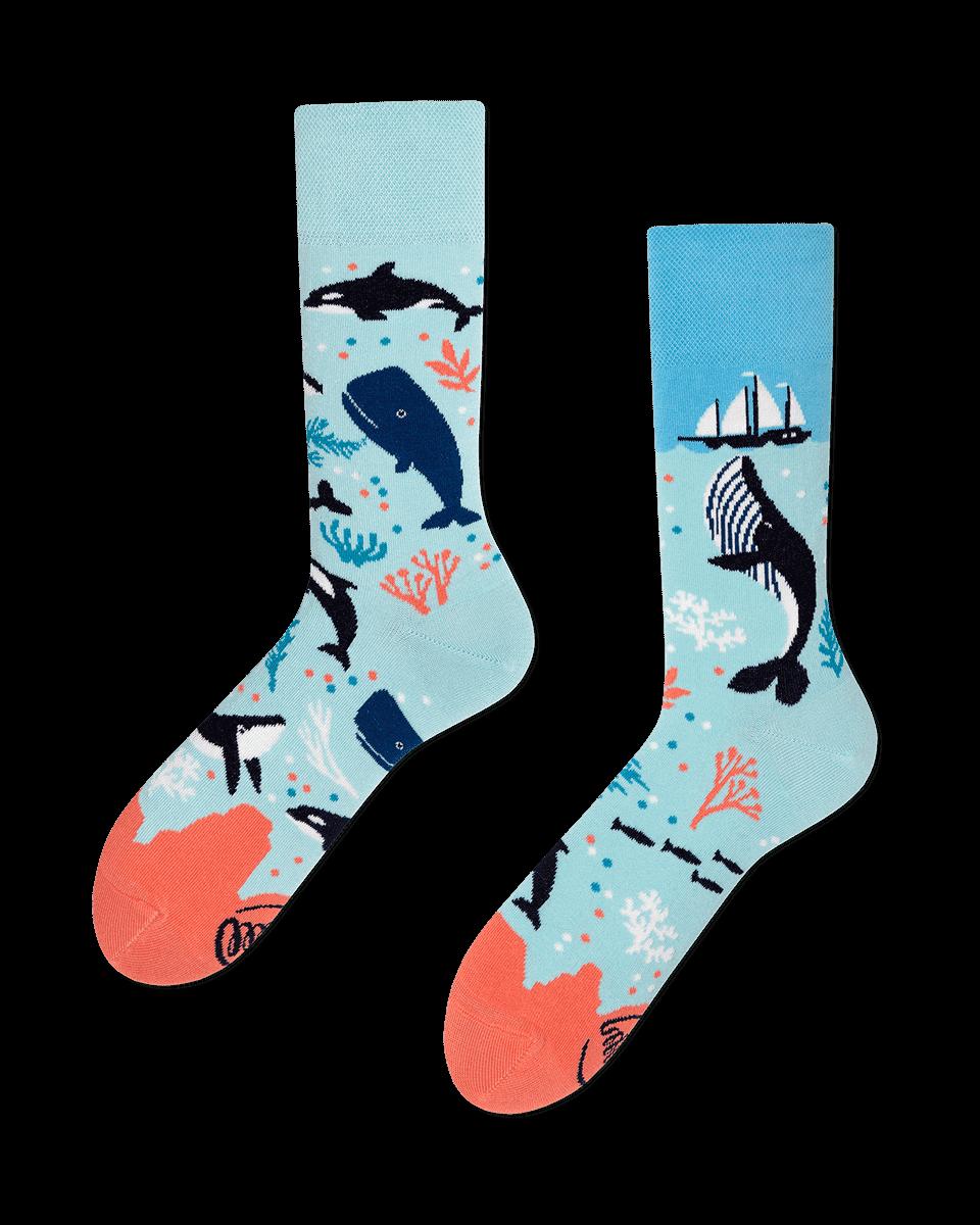 OCEAN LIFE - Skarpetki z wielorybem