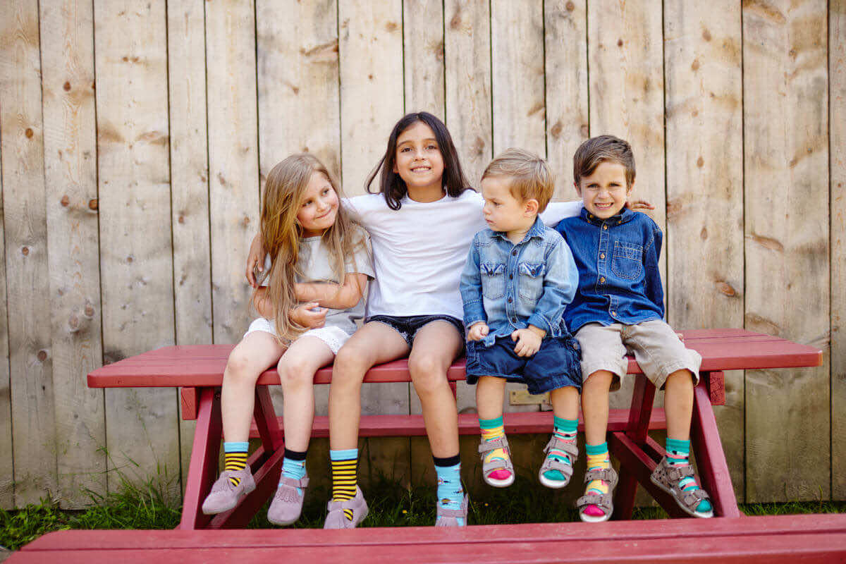 WATERMELON SPLASH KIDS - Dziecięce skarpetki w arbuzy