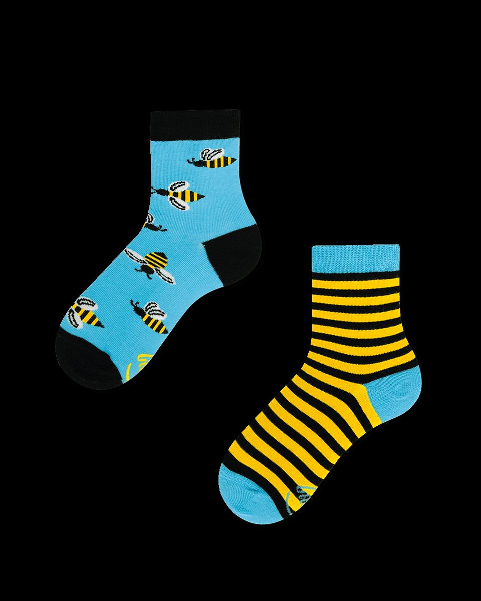 skarpetki nie do pary w pszczoły dziecięce