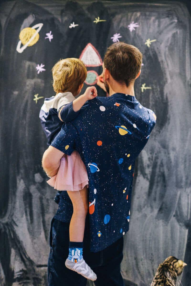 SPACE TRIP KIDS - Space kids socks