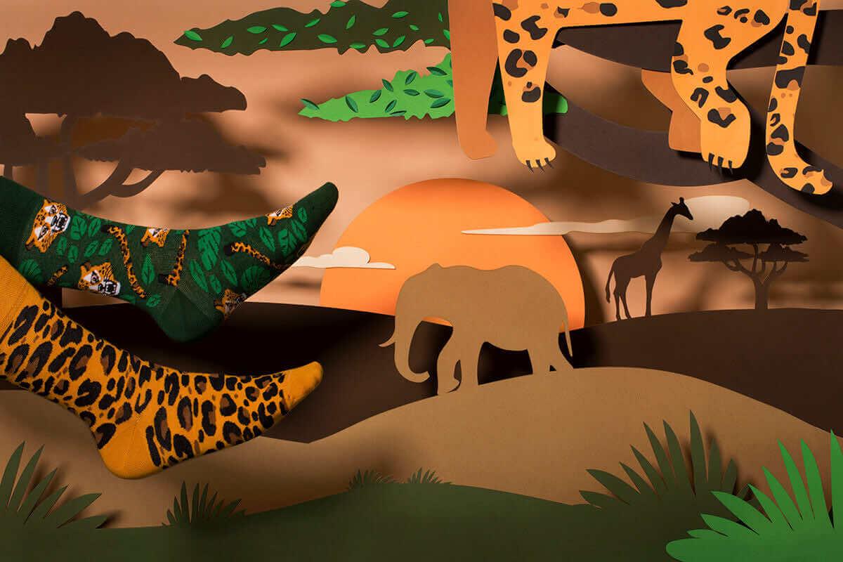 EL LEOPARDO KIDS - Leoparden Kindersocken