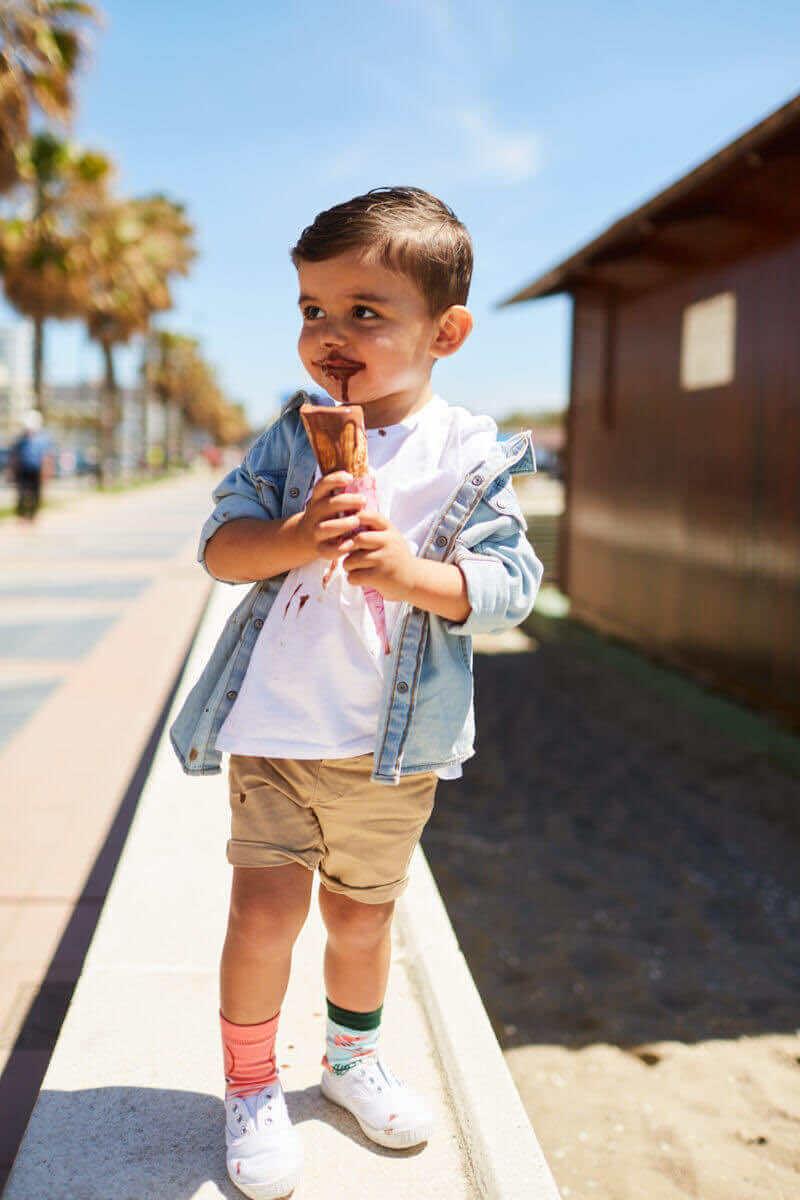 FRUTTI DI MARE KIDS - Seafood kids socks