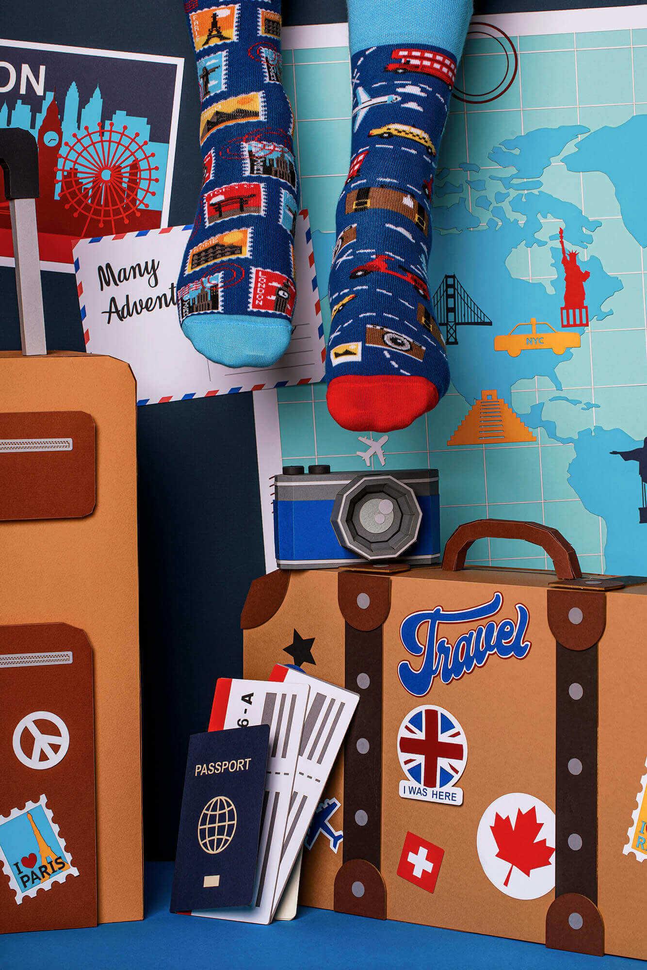 THE TRAVELER - Skarpetki dla podróżnika