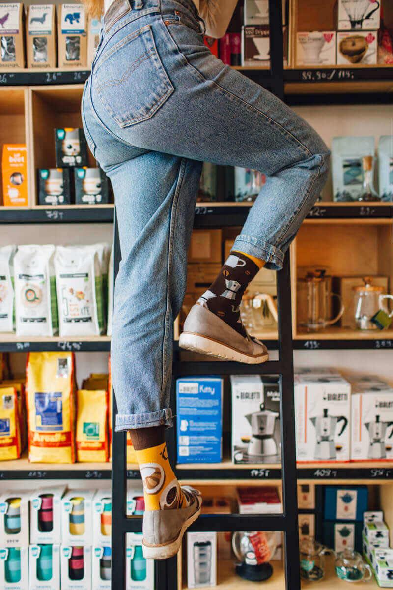 COFFEE LOVER - Sokken voor de koffiedrinker