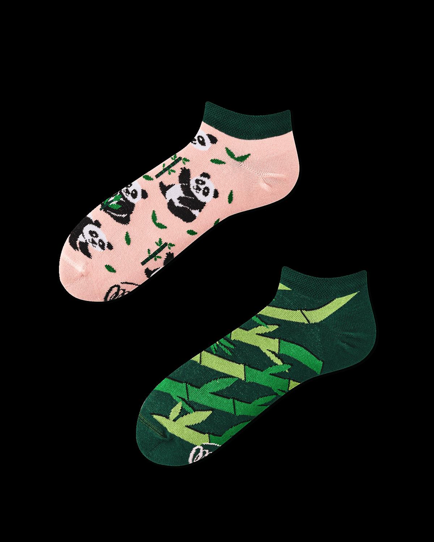 SWEET PANDA LOW - Panda Sneakersocken