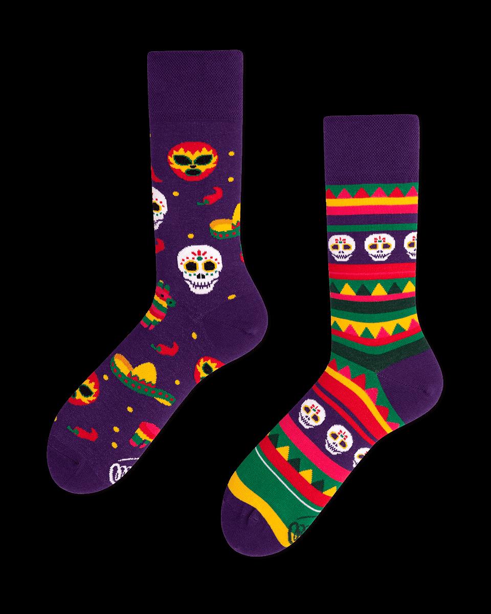 meksykańskie skarpetki na karnawał