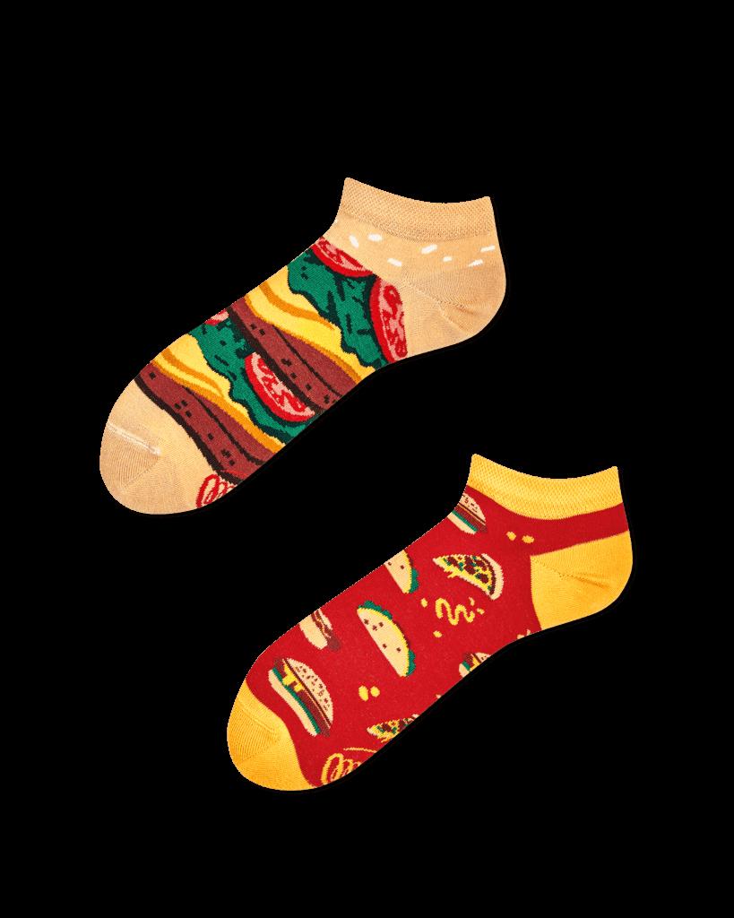 FAST FOOT LOW - Burger low socks