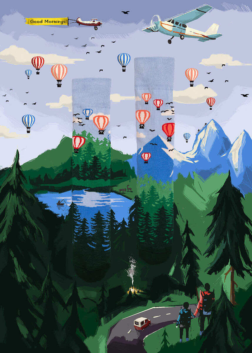 skarpetki w góry