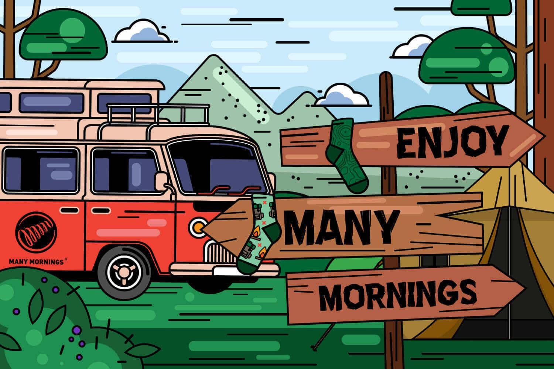 Obóz letni z Many Mornings po końcu roku szkolnego