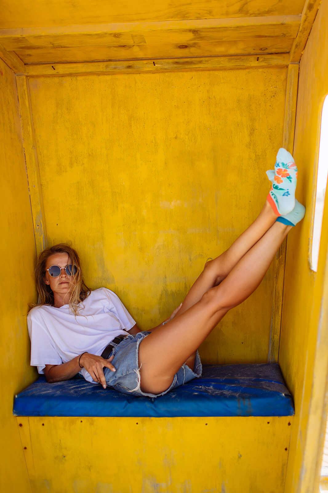 ALOHA VIBES LOW - Hawaii Sneakersocken