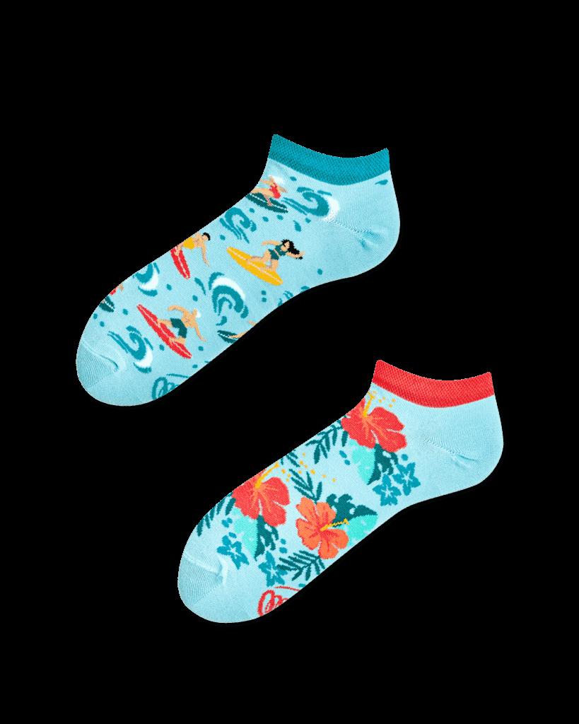ALOHA VIBES LOW - Skarpetki stopki hawajskie