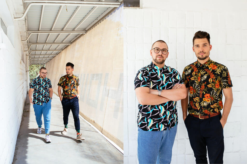 Twórcy Many Mornings: Maciek i Adrian