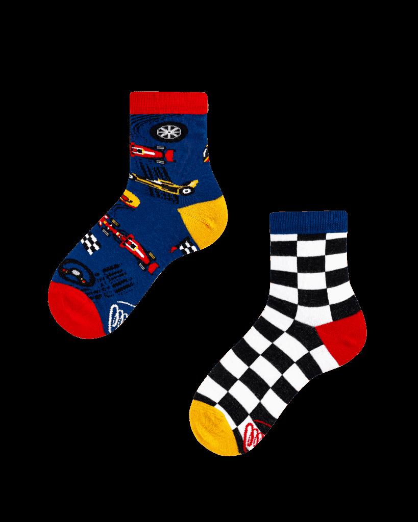 FORMULA RACING KIDS - Race car kids socks