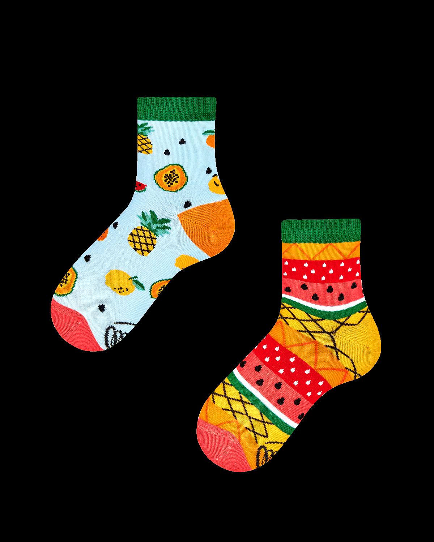 TUTTI FRUTTI KIDS - Dziecięce skarpetki w owoce