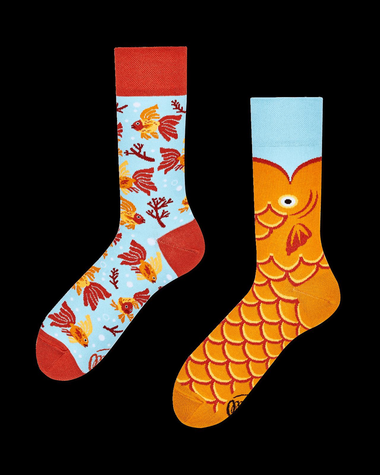THE WISH FISH - Skarpetki ze złotą rybką