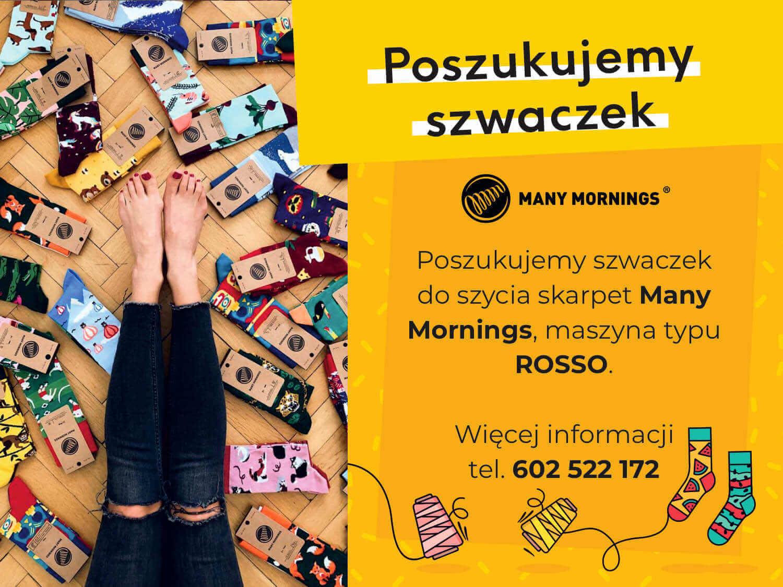 Many Mornings Szwaczka