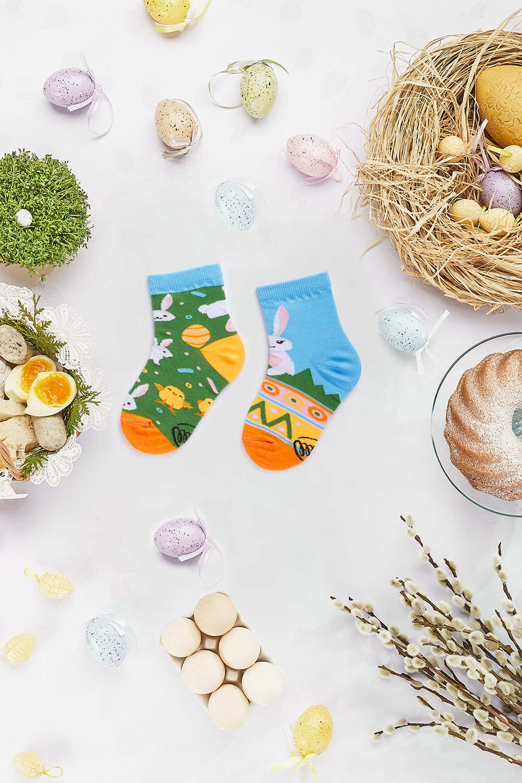 EASTER BUNNY KIDS - Bunny kids socks