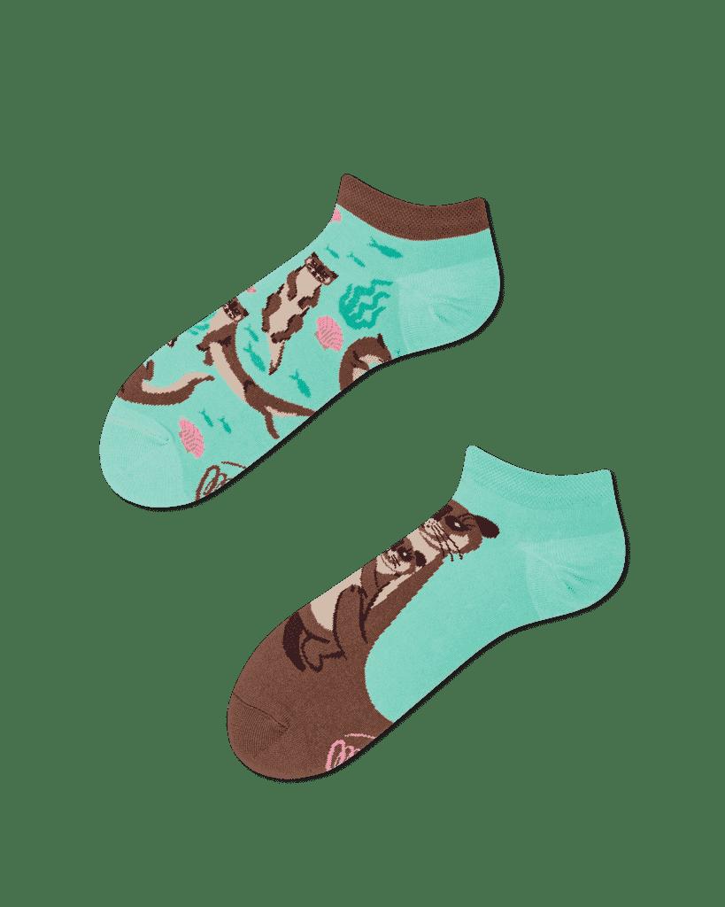 OTTER STORIES LOW - Otter Sneakersocken