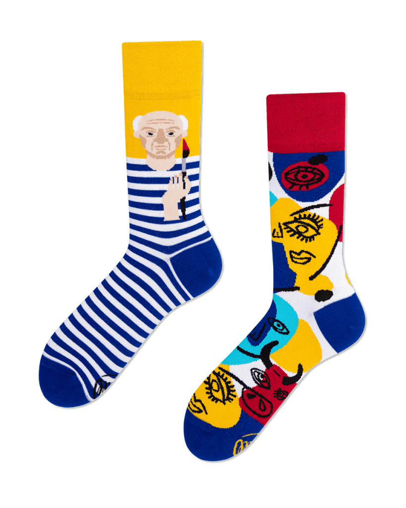 PICASSOCKS - Sokken met Pablo