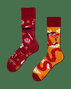 ASIAN DRAGON - Sokken met draken