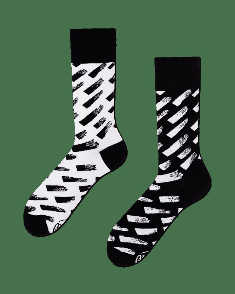BRUSH STROKES - Calcetines con pinceles