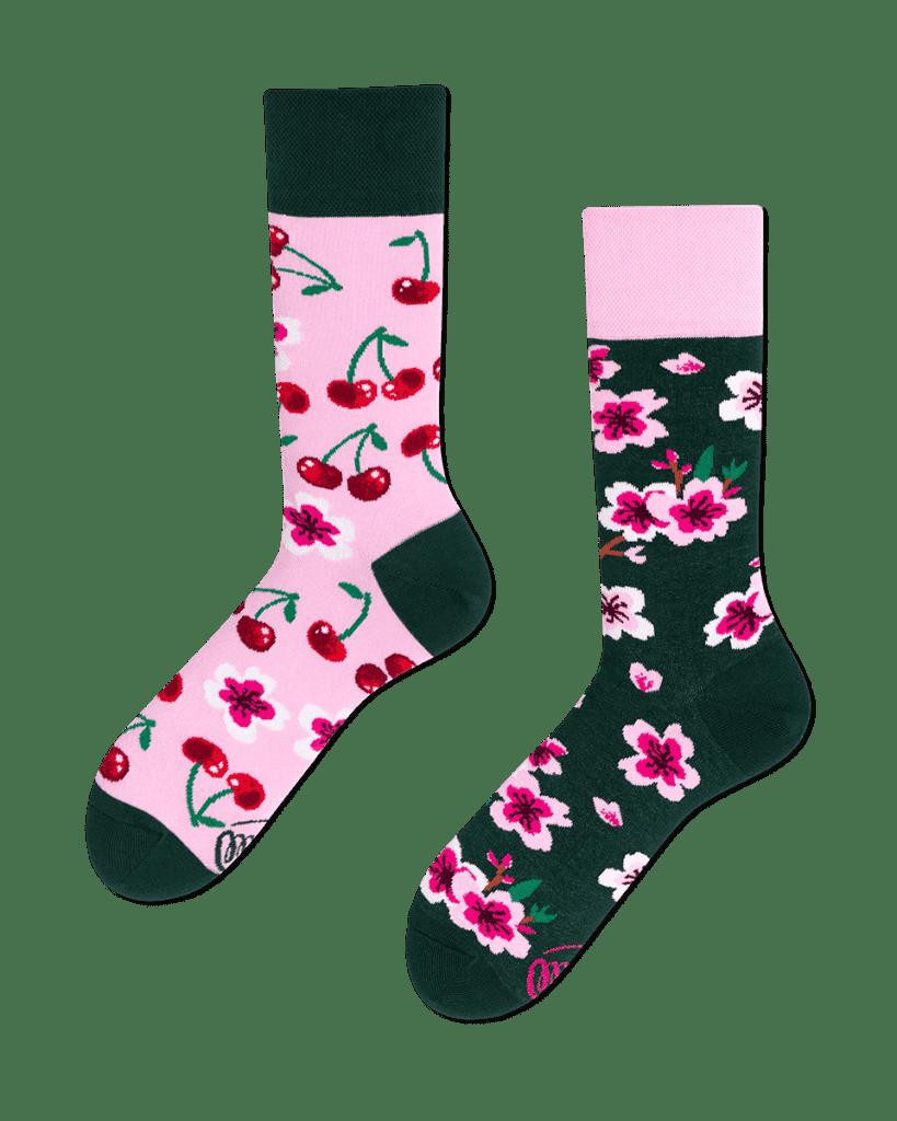 CHERRY BLOSSOM - Sokken met kersen