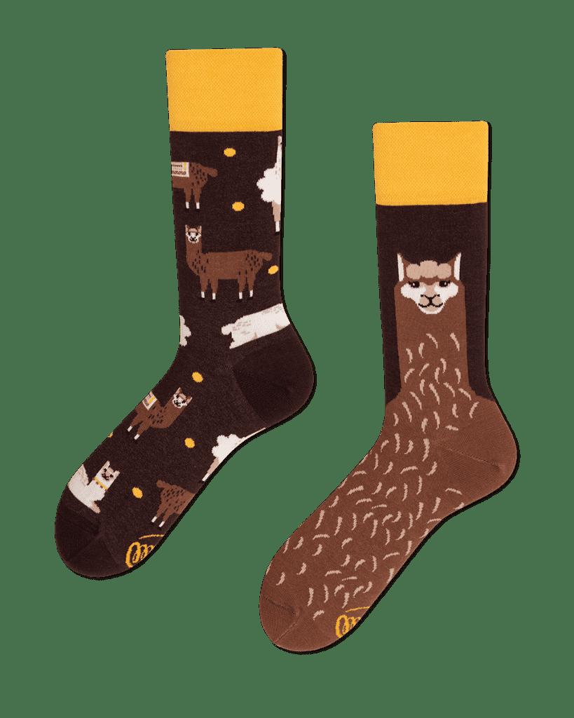 FLUFFY ALPACA - Sokken met een alpaca