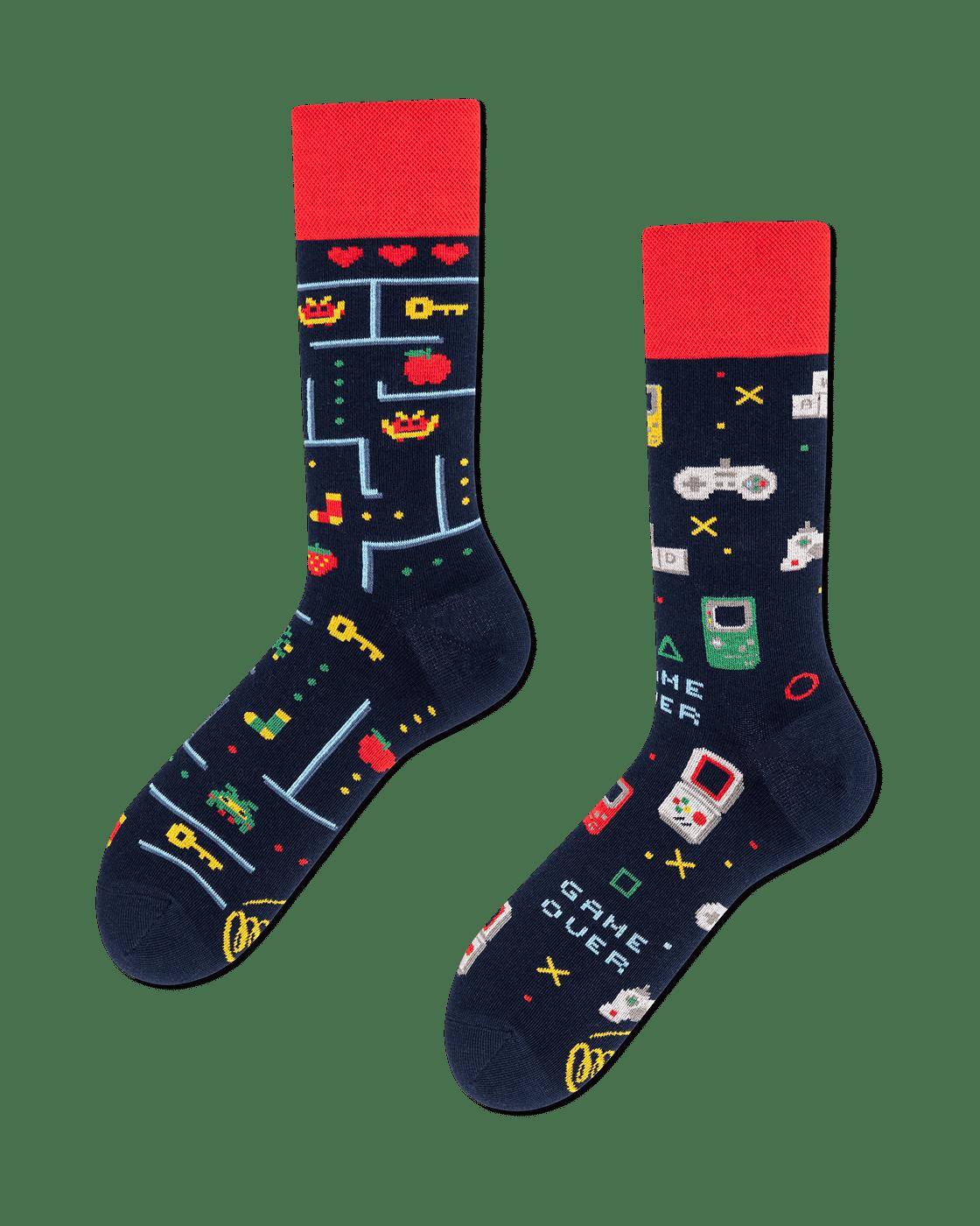 GAME OVER - Chaussettes pour joueurs
