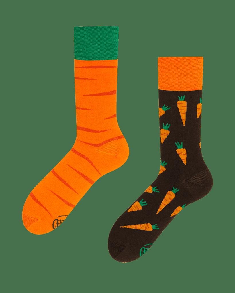 GARDEN CARROT - Sokken met wortelen