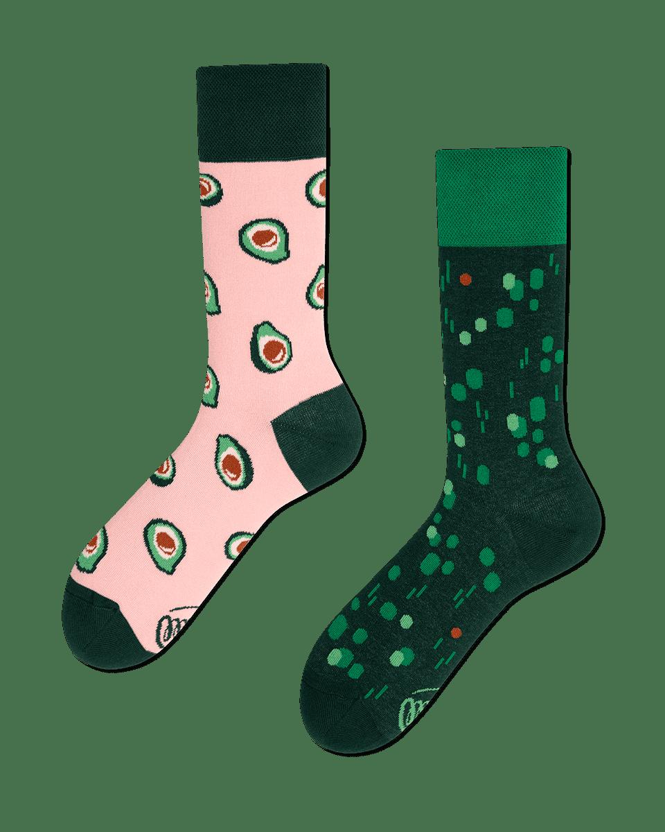 GREEN AVOCADO - Calcetines con aguacates