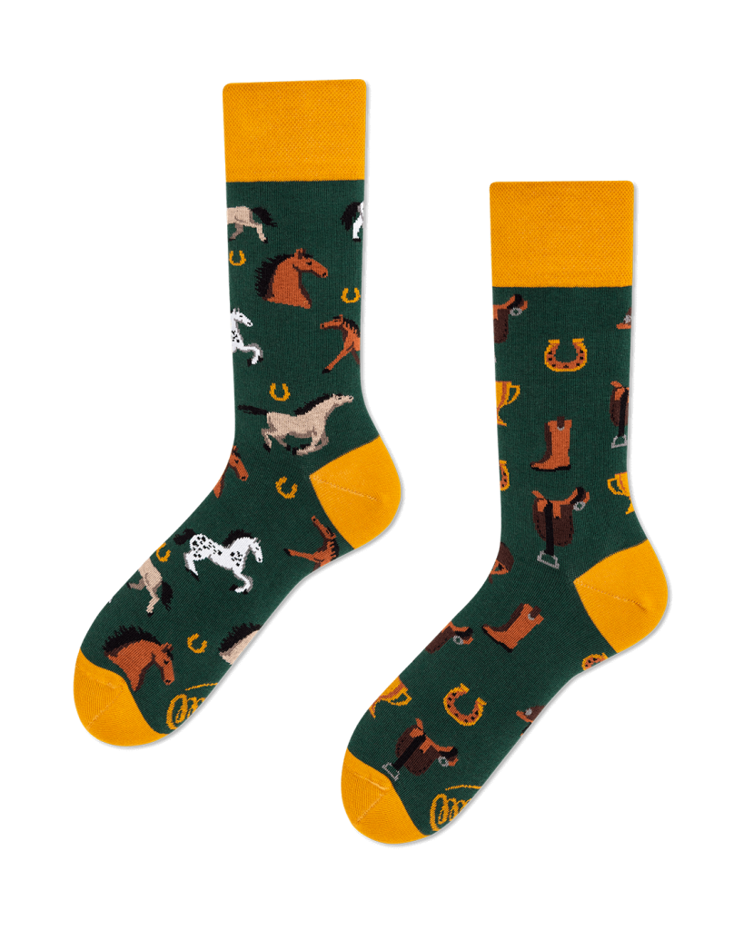 HORSE DERBY - Sokken met paarden