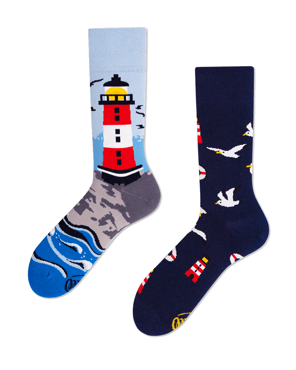 NORDIC LIGHTHOUSE - Chaussettes motif phare