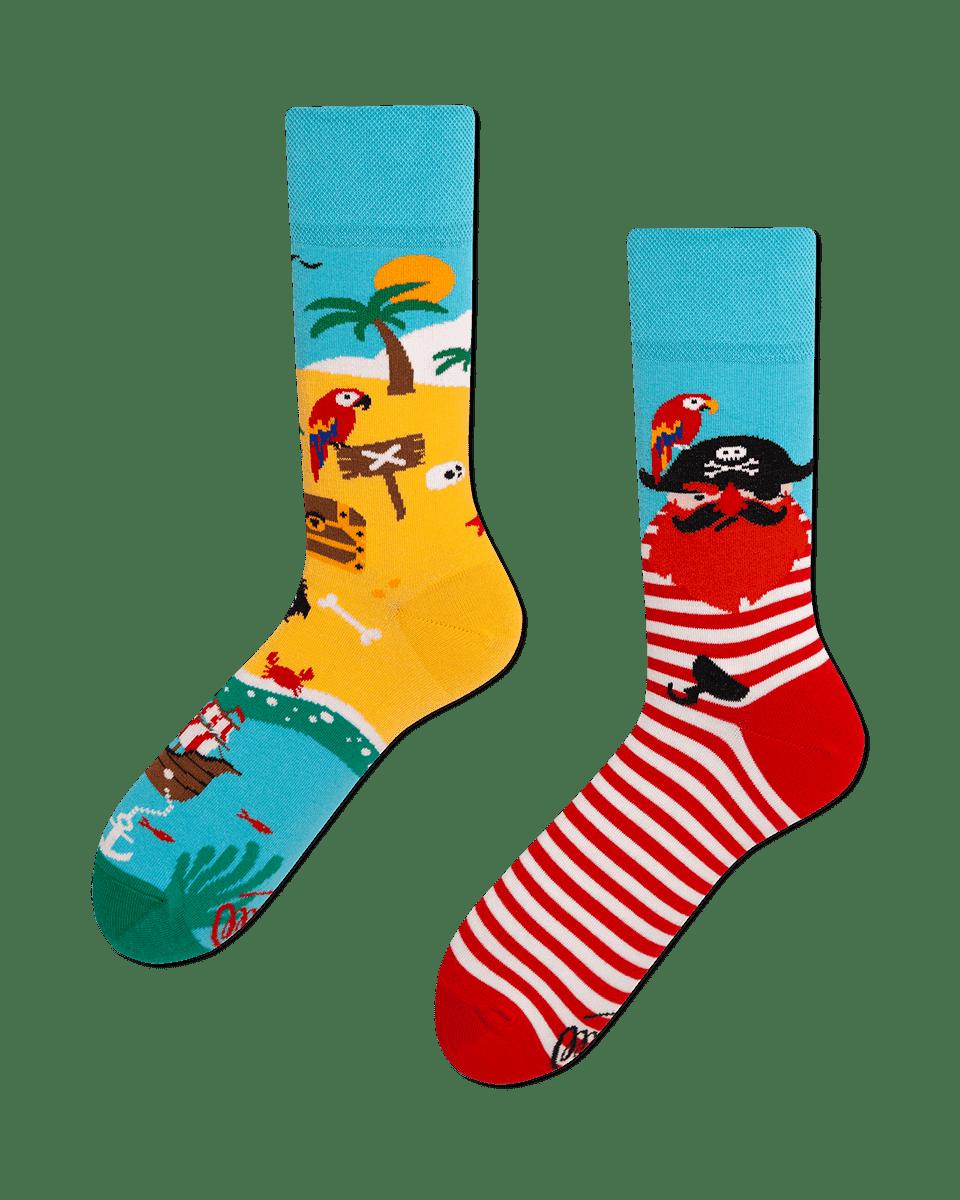 PIRATE ISLAND - Sokken met piraat